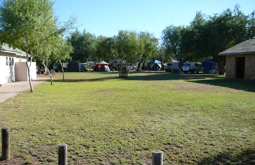 Campsite was quite full