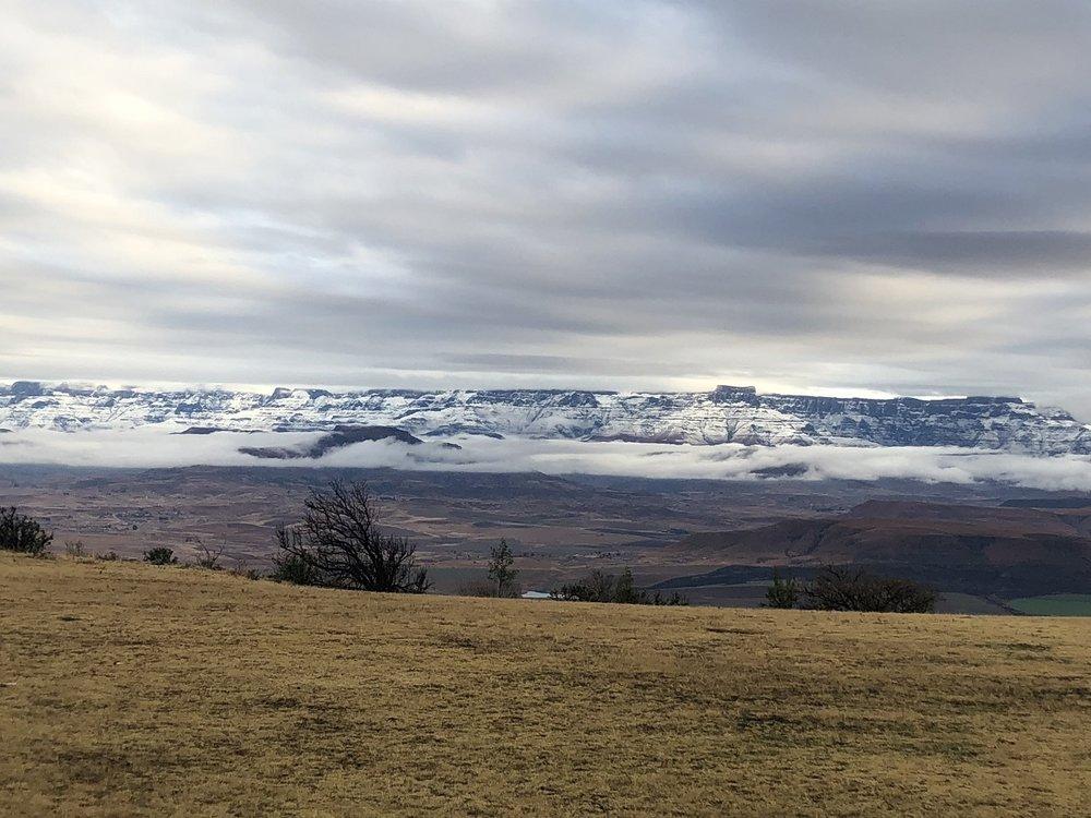 Snow peaks of the Drakensberg - Maloti