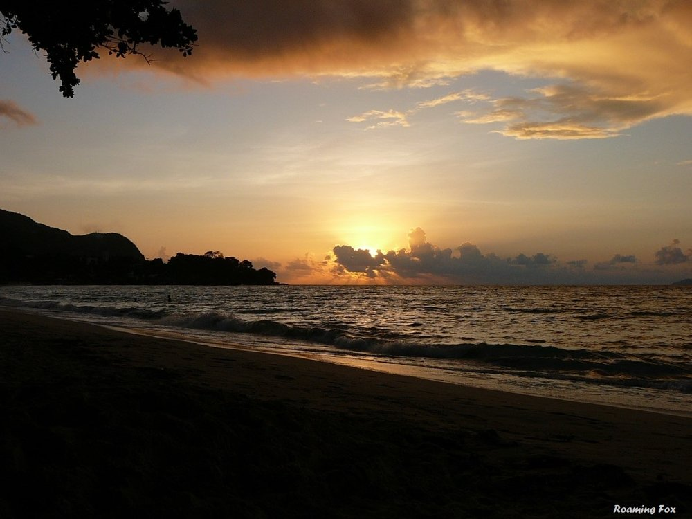 Sunset Beau Vallon Mahe Seychelles