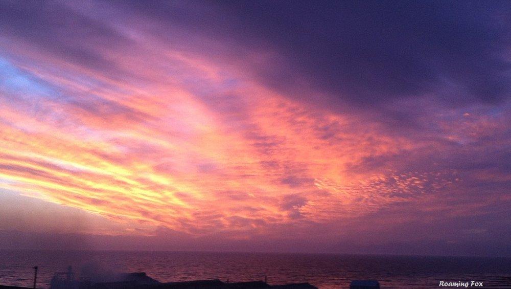 Sunset Walker Bay South Africa