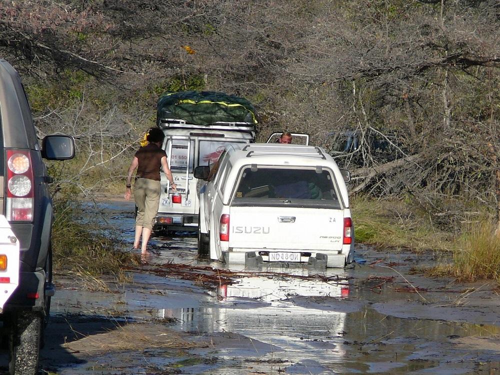 Vehicle needing assistance