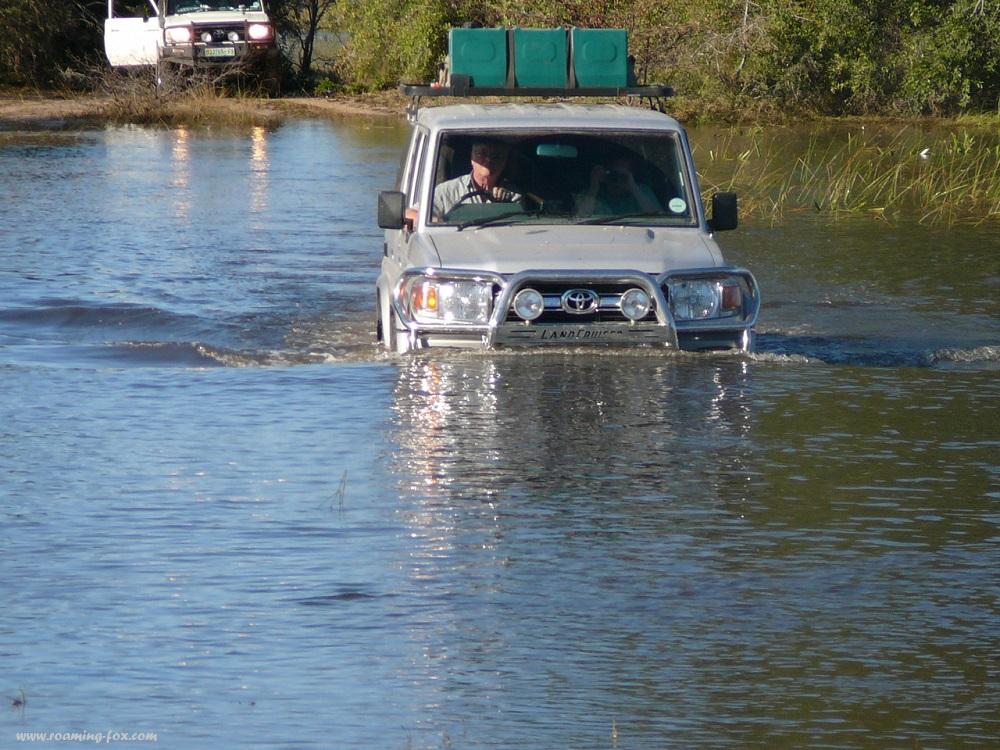 www.roaming-fox.com Okavango water crossing (4).JPG