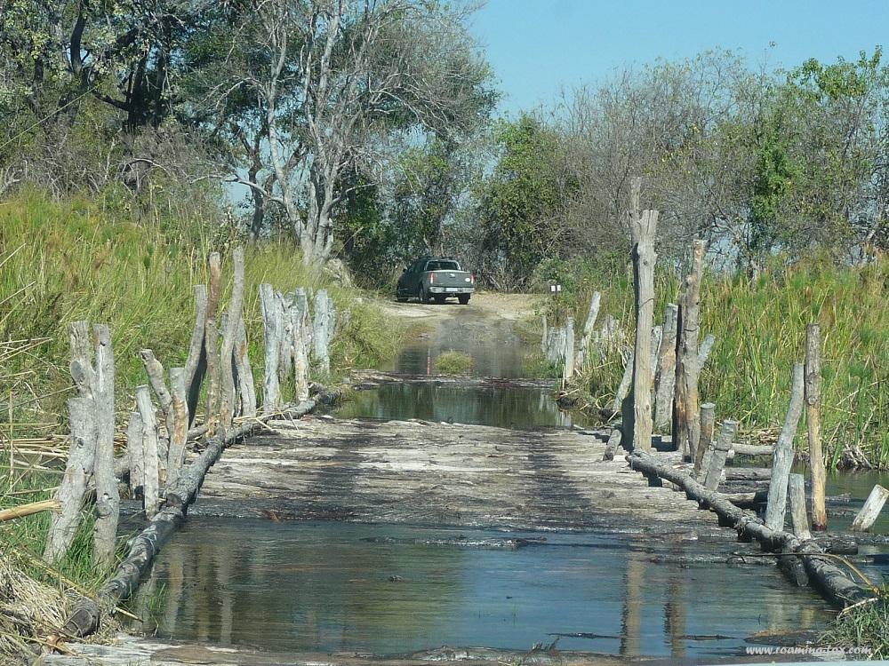 www.roaming-fox.com Moremi game reserve bridges.JPG