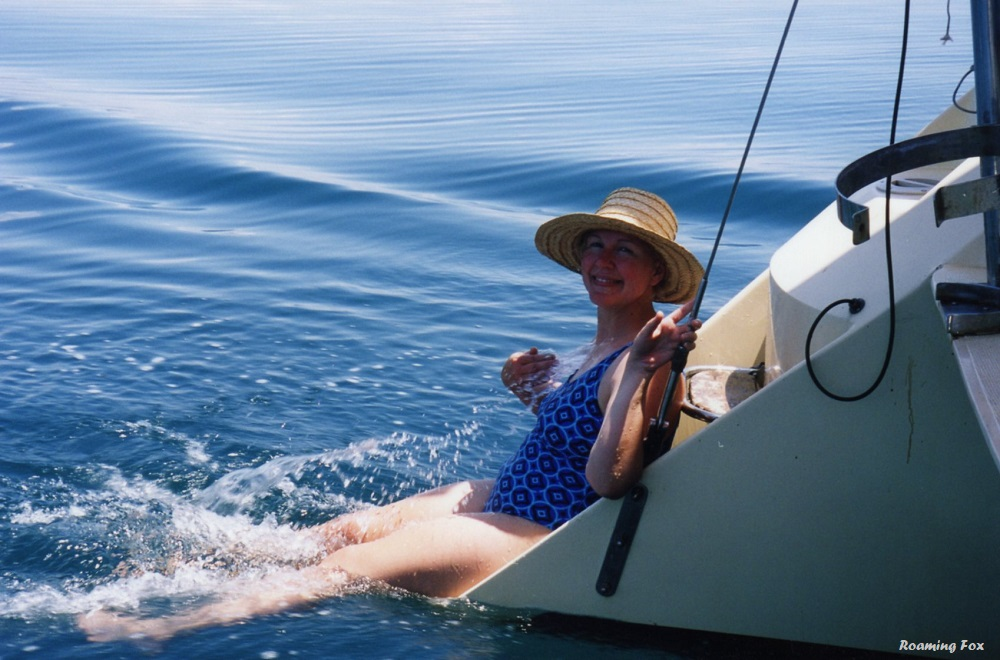 Juanita cooling off