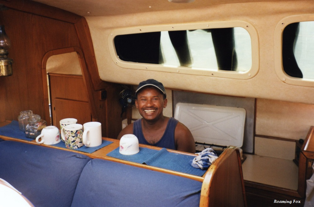 Our Jack of all Trades on the boat - chef, dishwasher, deck hand and anything else that needed to be done