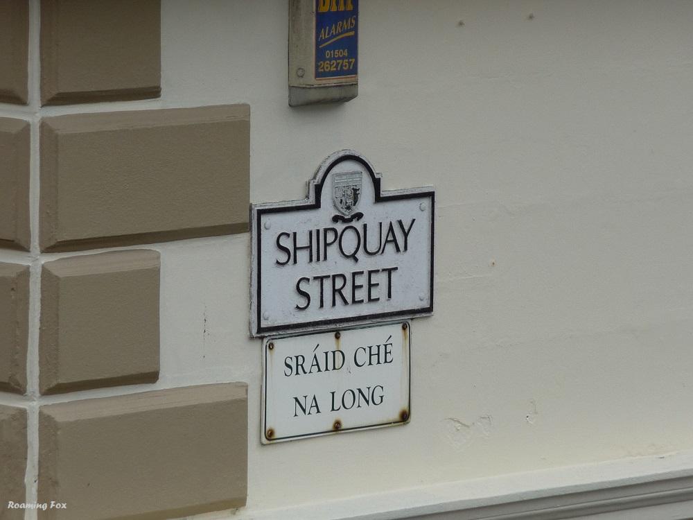 Street names Londonderry