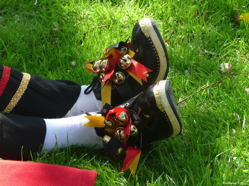 Bells on dem shoes