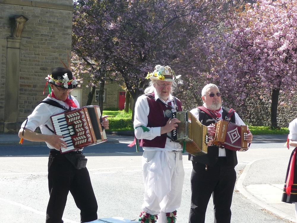 Morris Folk Dancing musicians