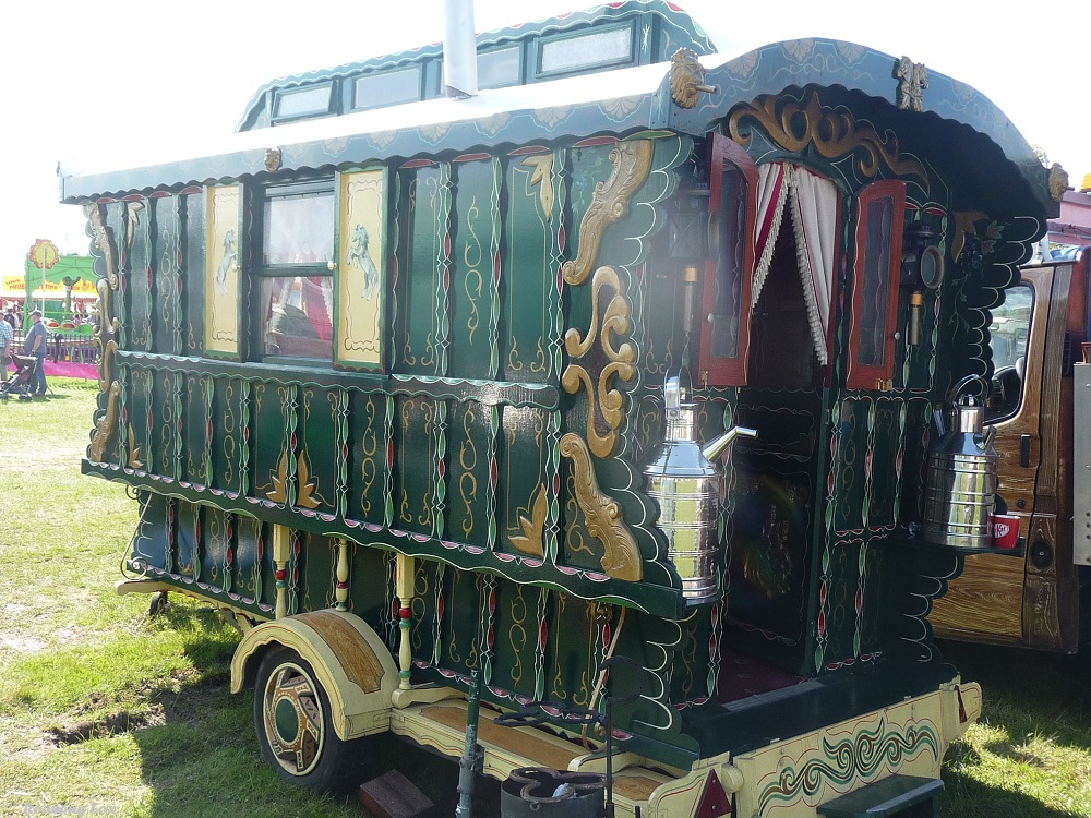 Gypsy caravan Chipping Steam Fair.JPG