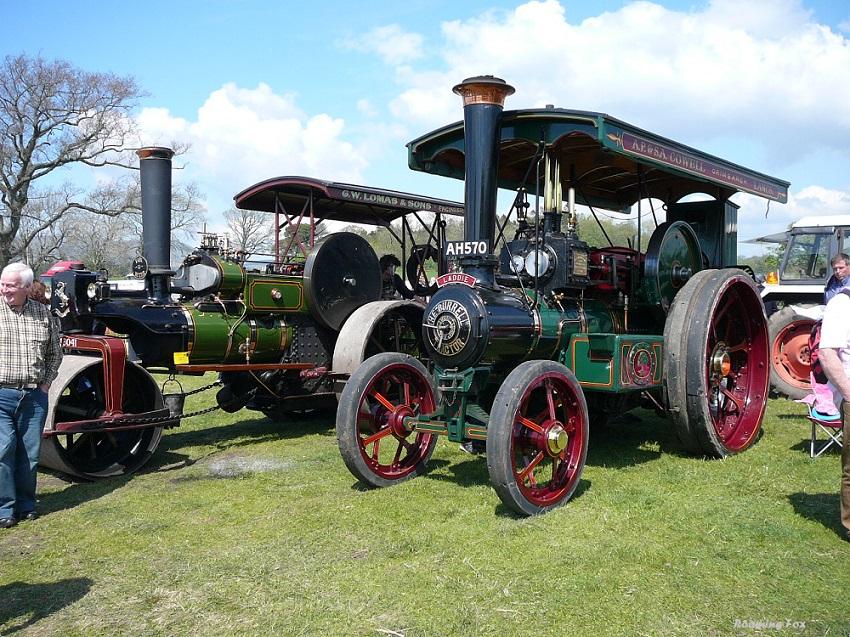 Steam engine Chipping Steam Fair.JPG