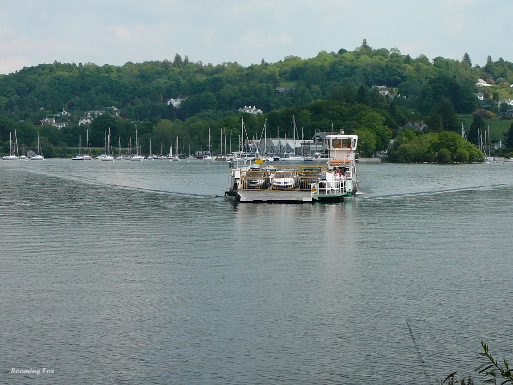 Ferry on Lake Windermere