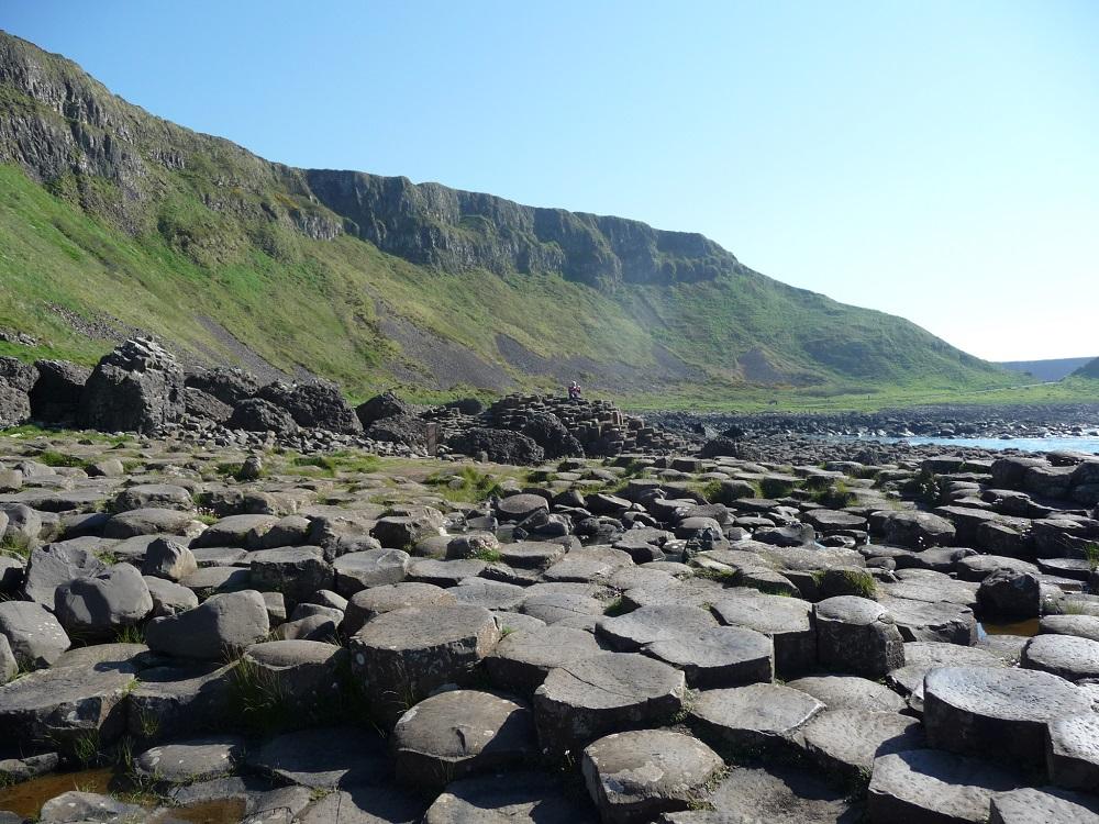 RF Giant's Causeway interlocking basalt columns 2