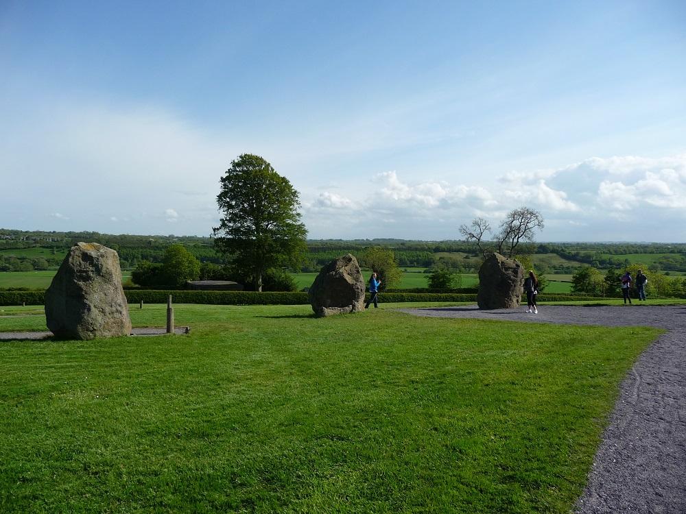 RF Stone age Irish Tomb Boyne Valley Newgrange