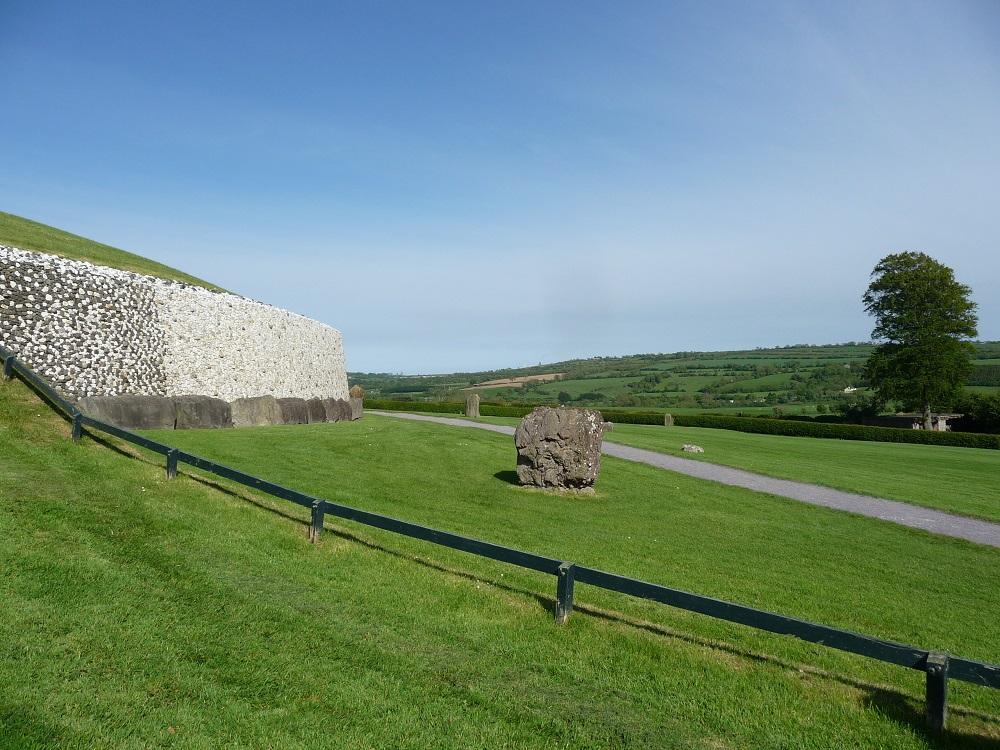 RF Stone Age Tomb Boyne Valley at Newgrange Ireland