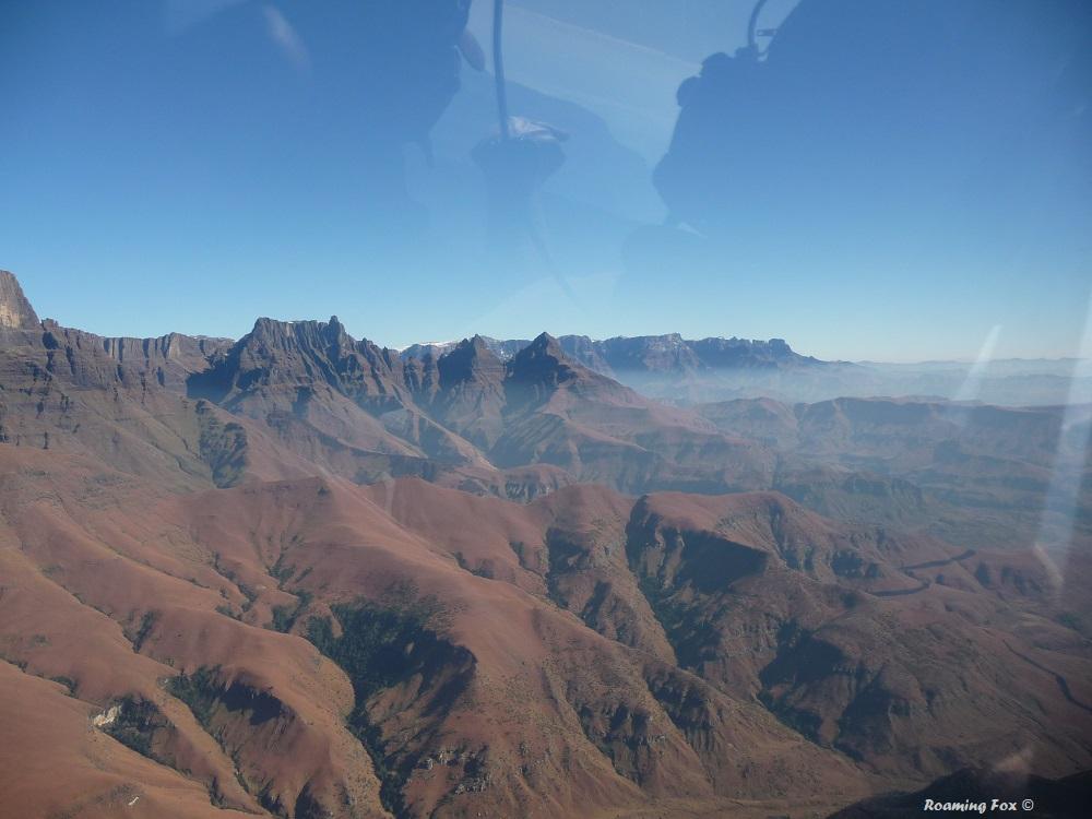 Rugged peaks of the Drakensberg
