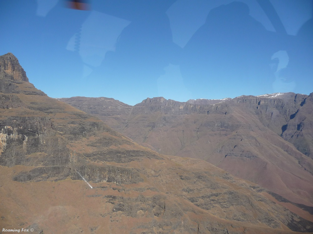 Parts of the Drakensberg still covered in snow