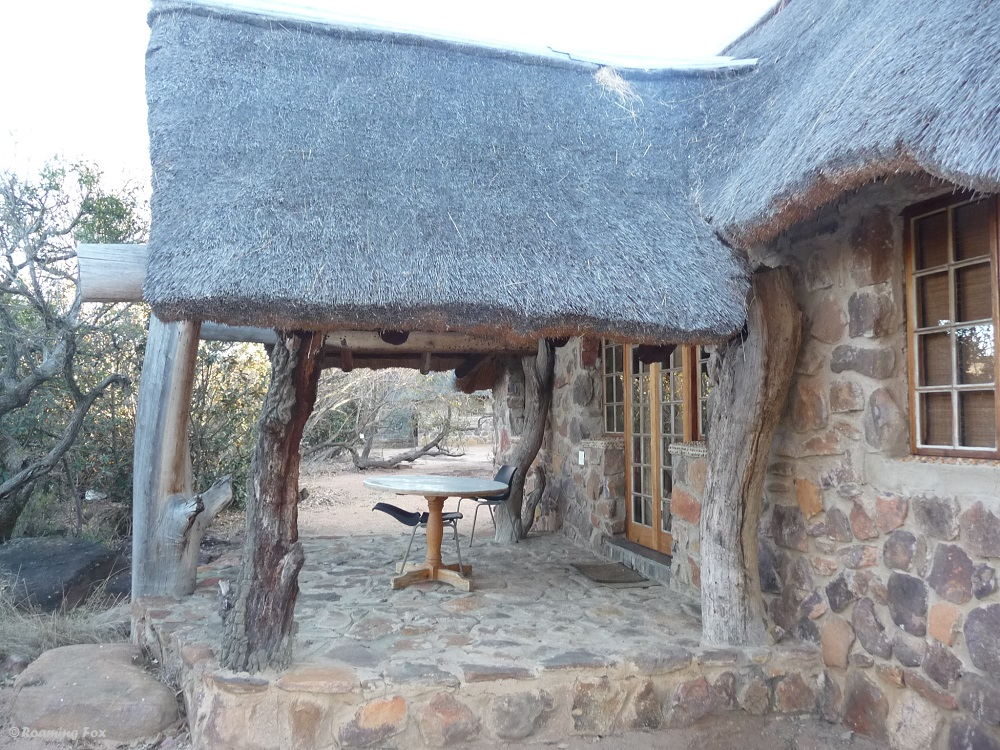 Our chalet at Thaba Moia