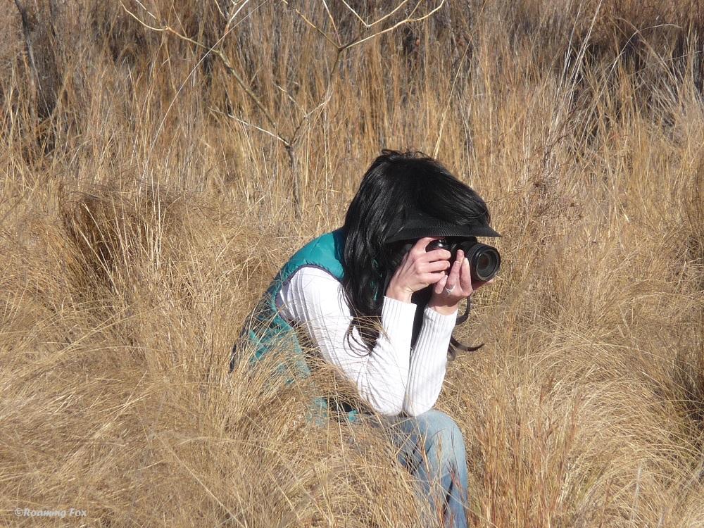 Leilani Basson taking photos