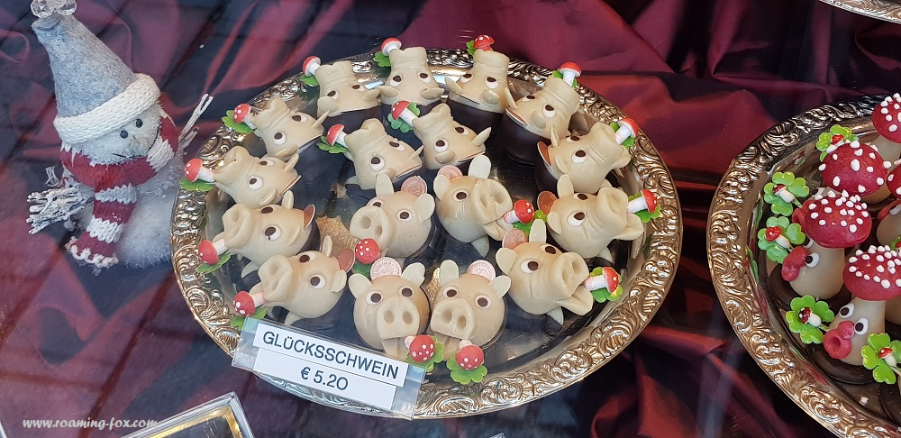 Edible German decorations