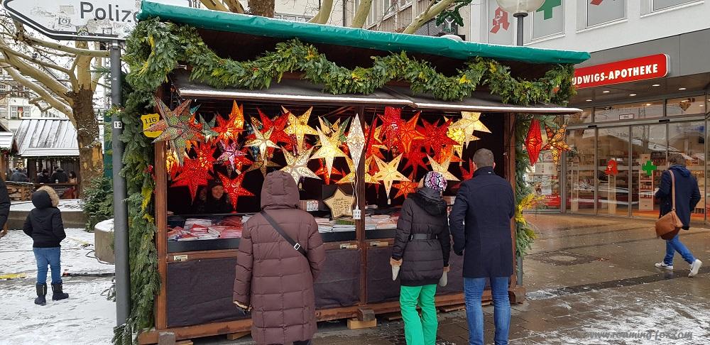 German Paper Stars or lanterns