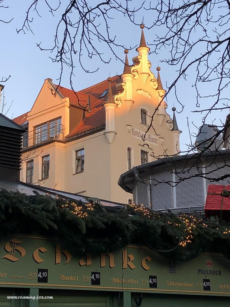 Love the gables of this building near the Viktualienmarkt