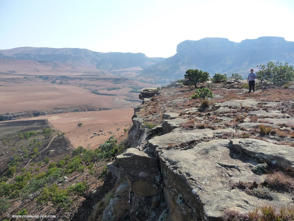 View towards the Northern Drakensberg
