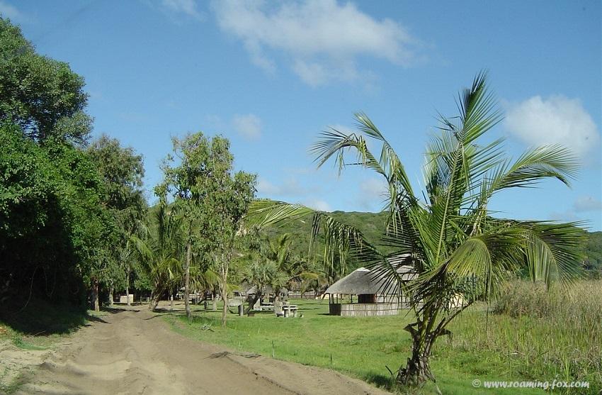 Zavora campsites with barracas