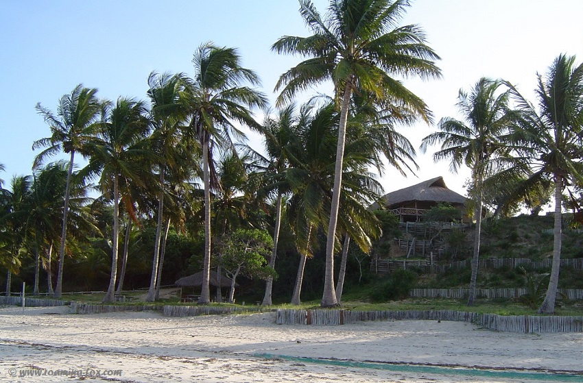 A resort or private house near Vilanculos
