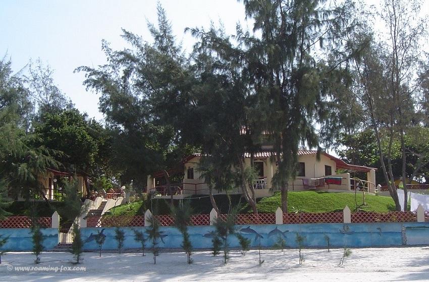 Private house at Bilene