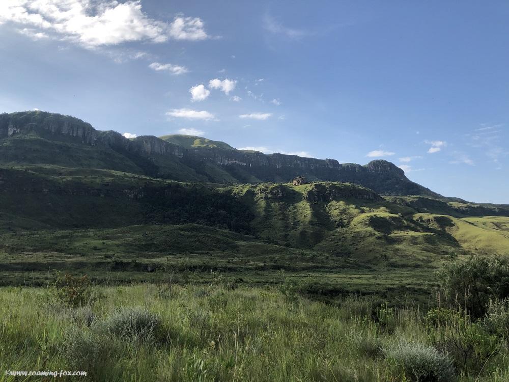 Drakensberg in summer
