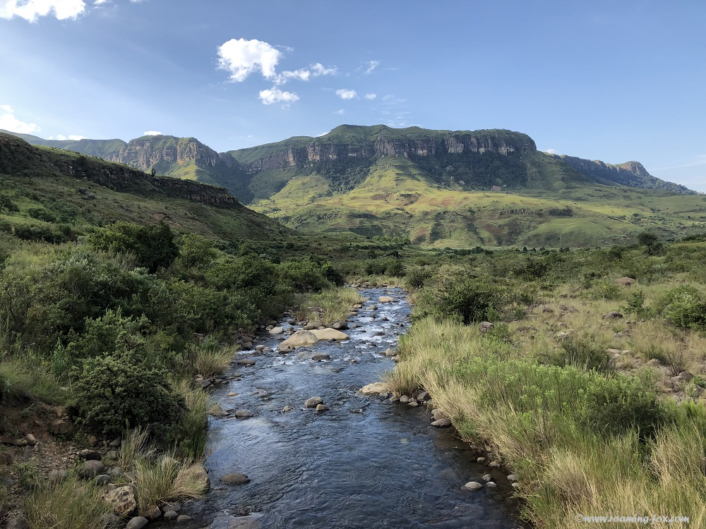 Beautiful vista at Injisuthi