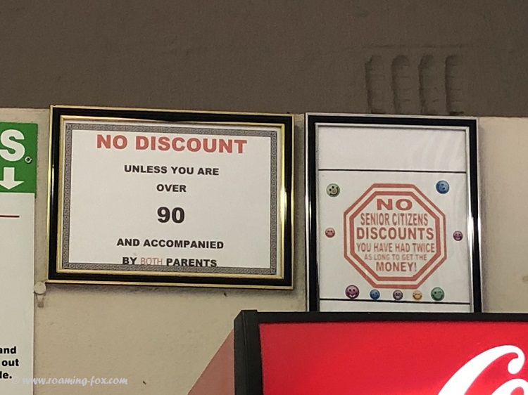 Drakensberg Canopy Tour Signs