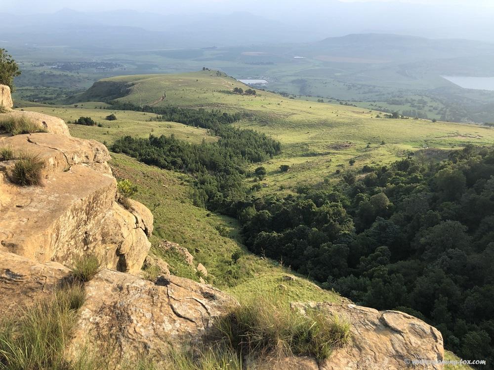 Valley below Drakensberg Mountain Retreat
