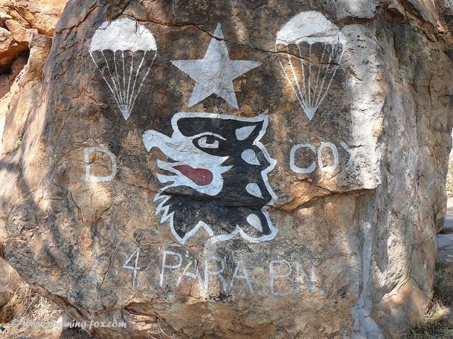 Military markings Mapungubwe.JPG