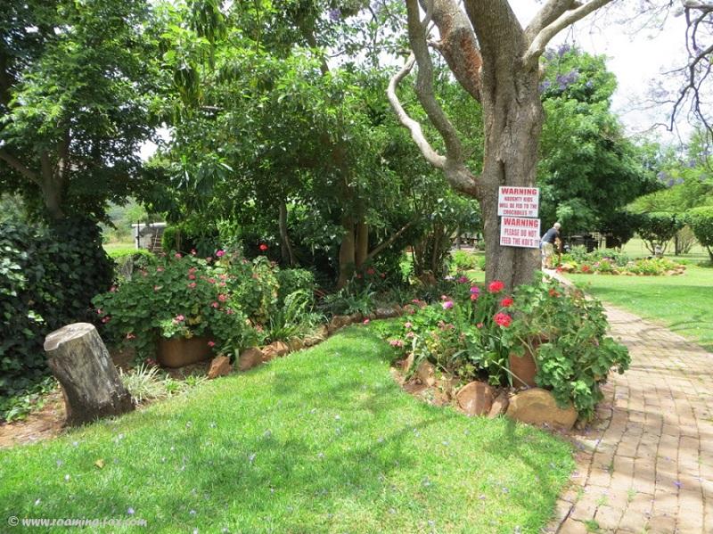 Garden at Geluksfontein Cheese farm