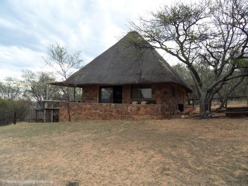Self catering stone cottages at Koshari