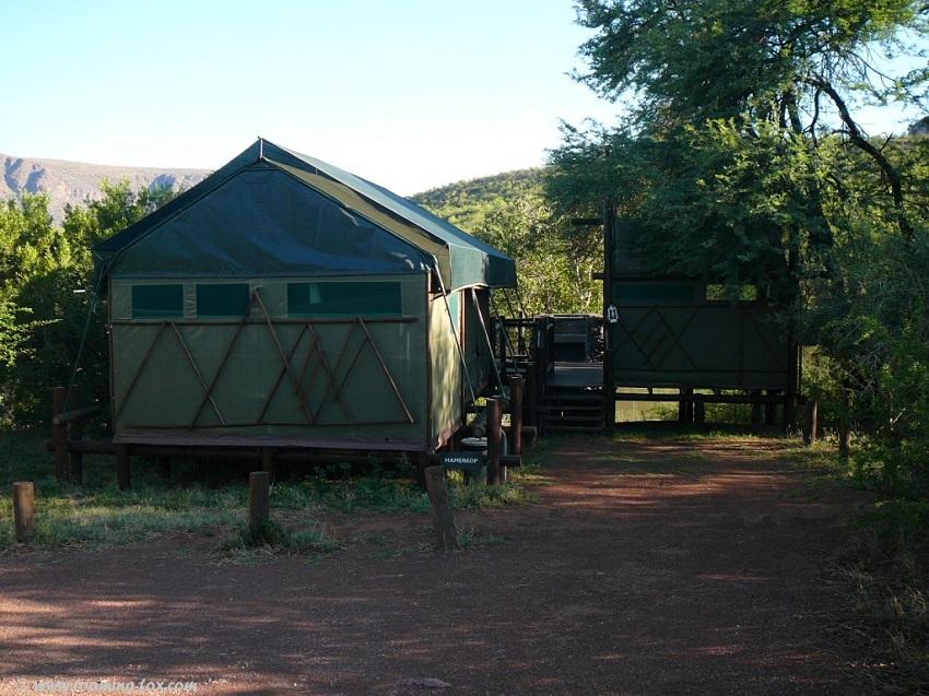 Safari tents at Tlopi Tented Camp