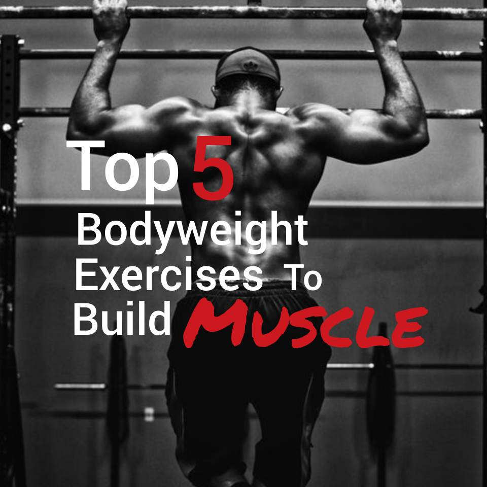 5 Best Bodyweight Exercises for Building Muscle — Marks fitness