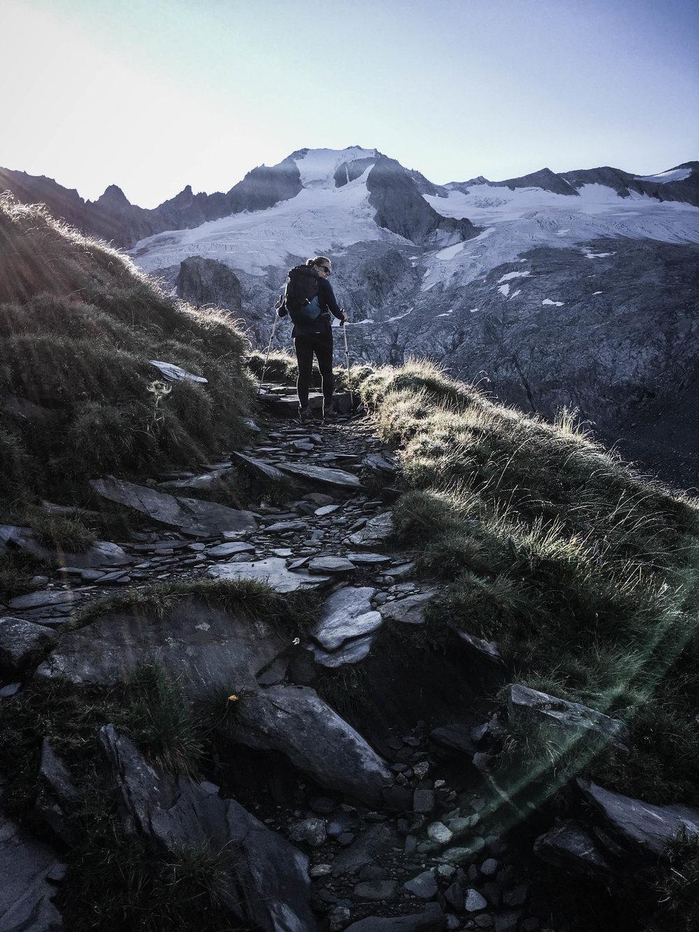 Aufstieg zum Schönbichler Horn
