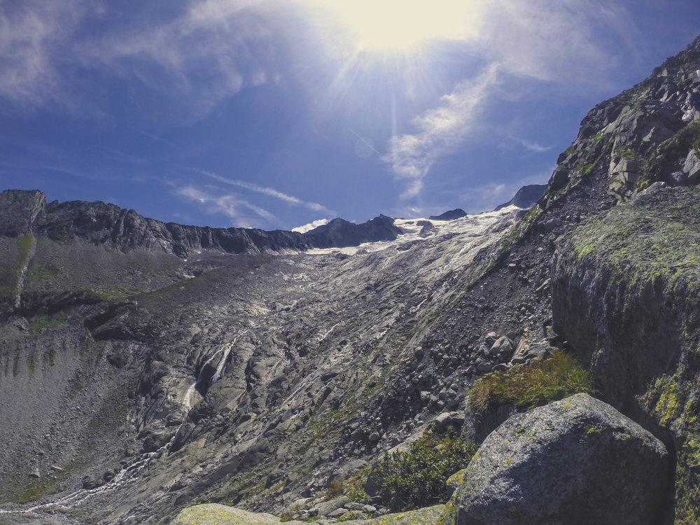 Abstieg vom Schönbichler Horn