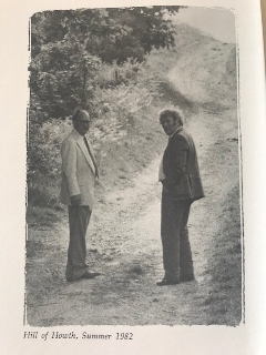 Richard Ellmann and Seamus Heaney, from frontispiece.