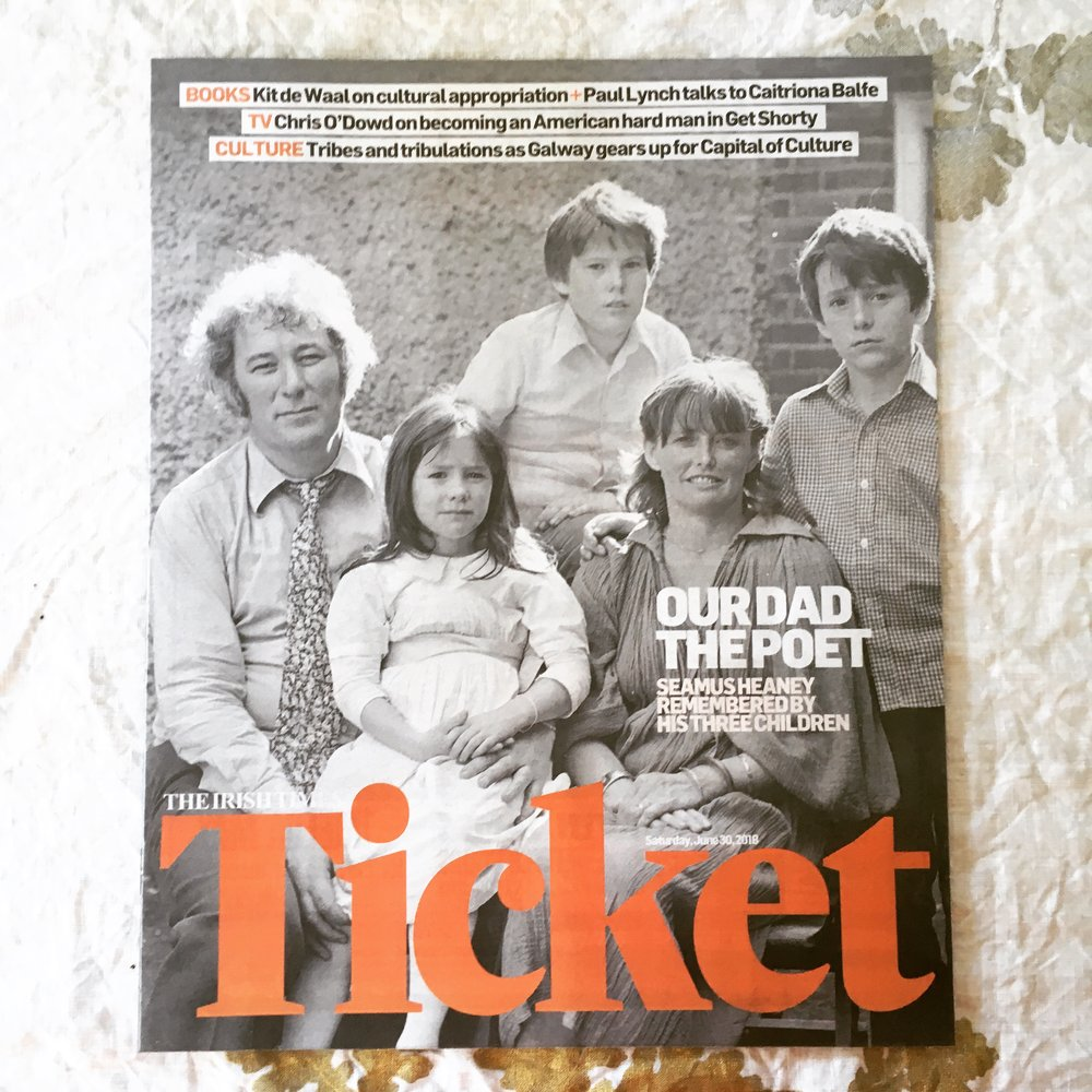 Irish Times Ticket