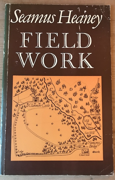 The original 1979 edition of Field Work, published by Faber and Faber.