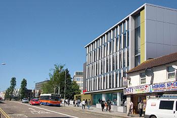 <b>STEM Building</b><br>University of Bedfordshire