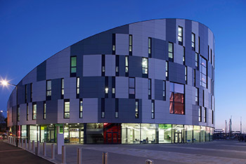 <b>Waterfront Building</b><br>University of Suffolk