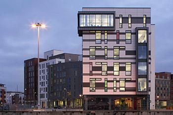 <b>James Hehir Building</b><br>University Campus Suffolk