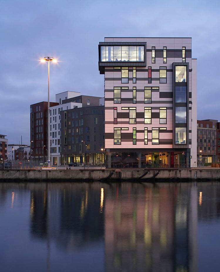 <b>James Hehir Building</b> | University Campus Suffolk