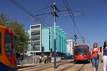 <b>Information Commons</b><br>The University of Sheffield