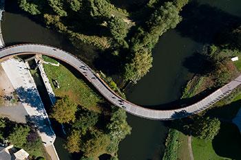<b>Waterside Campus Foot Bridge</b><br>University of Northampton