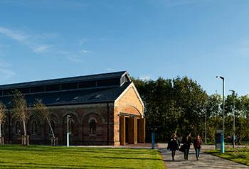 <b>Locomotive Shed</b><br>University of Northampton